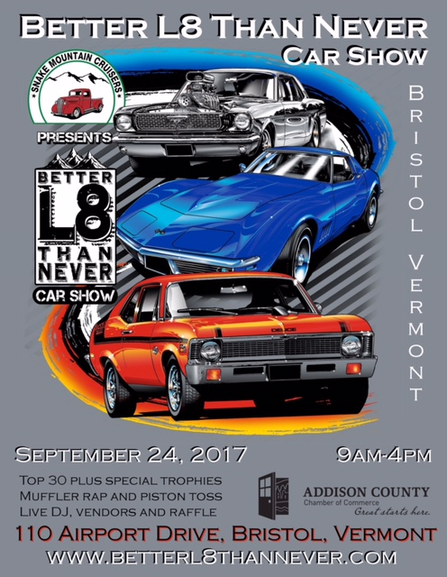 Th Annual Better L Than Never Car Show Camp TaKumTa - Piston car show trophies
