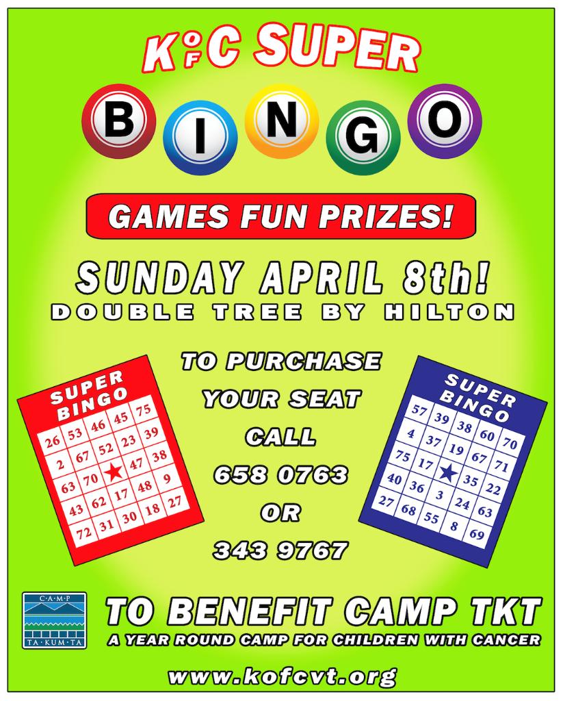 Super Bingo April 8 2018